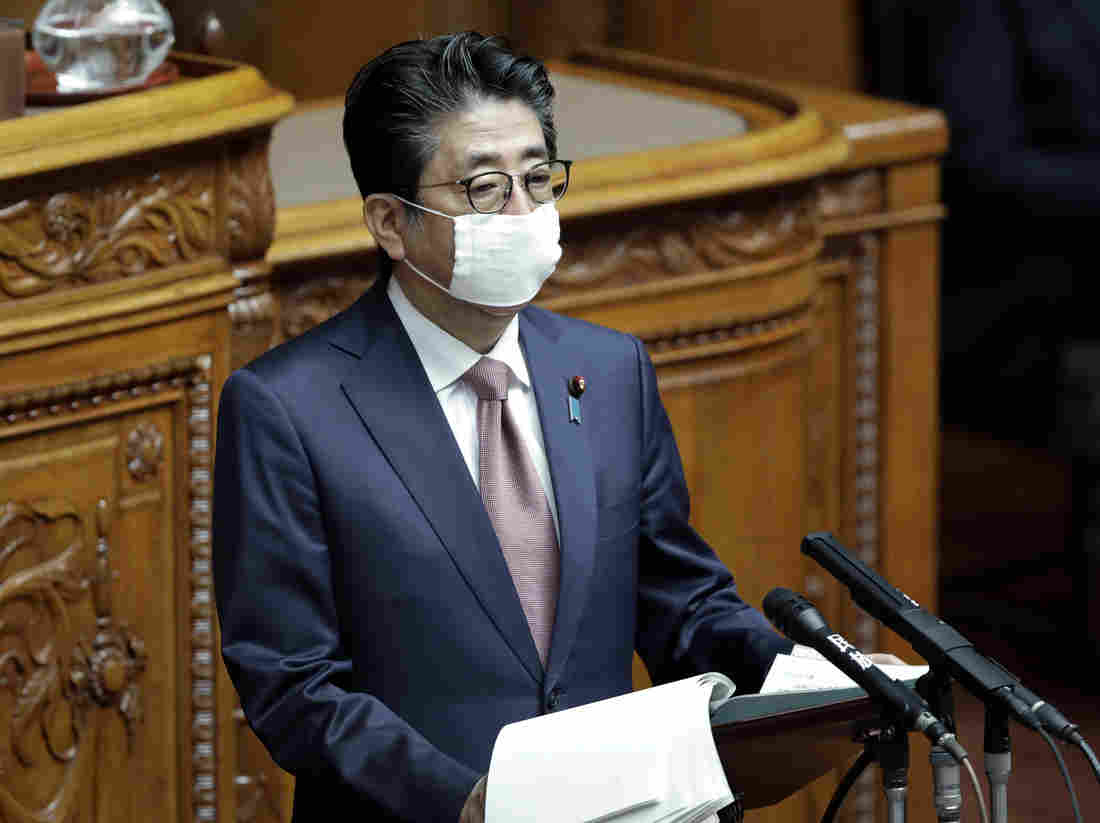 Japan's Abe Says He Will Declare State Of Emergency As Coronavirus Cases Surge