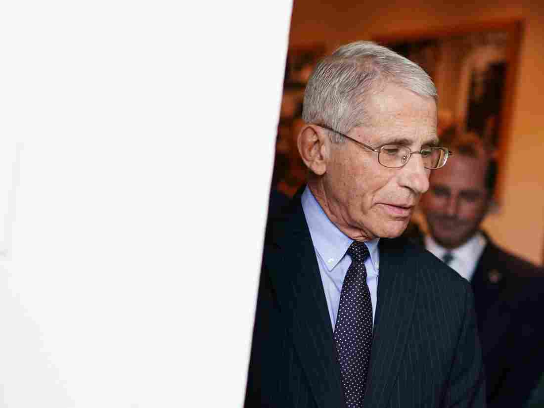 White House Denies Congressional Request For Dr. Anthony Fauci's Testimony