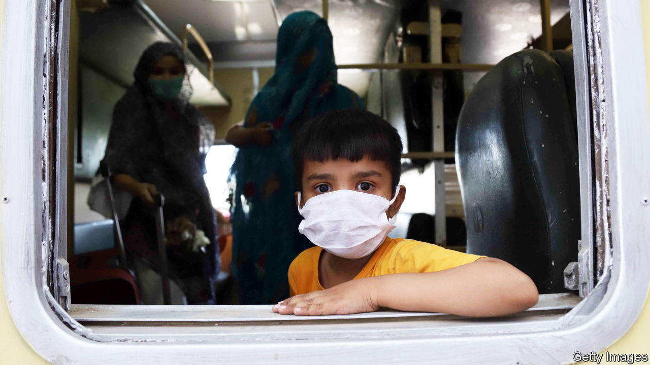 The other three-quarters The pandemic is still gathering pace in most of the world